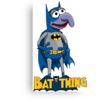 Gonzo the Batman Canvas Print