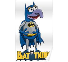 Gonzo the Batman Poster