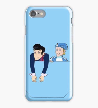 Robbie Rotten and Sportacus in your pocket iPhone Case/Skin