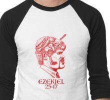 Ezekiel 25:17 The Path of the Righteous Man Men's Baseball ¾ T-Shirt