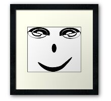 Face 2000 Framed Print