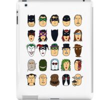Batman Heroes & Villains iPad Case/Skin