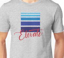 Elevate MMA Academy Hand Lettered Logo Unisex T-Shirt
