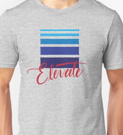 Elevate MMA Academy Hand Lettered Logo Unisex T-Shirt