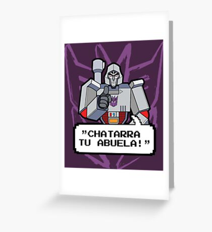 Megatron 1 Greeting Card