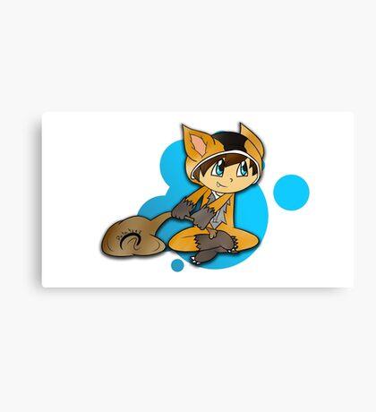 Gamer Fox Canvas Print