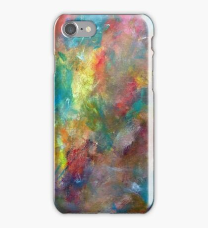 Abstract Color Painting iPhone Case/Skin