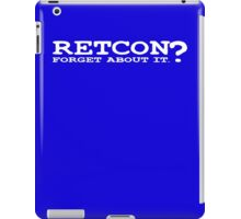 RETCON? iPad Case/Skin