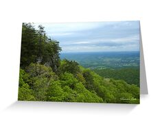 Powell Valley from Pinnacle Overlook Greeting Card