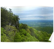 Powell Valley from Pinnacle Overlook Poster