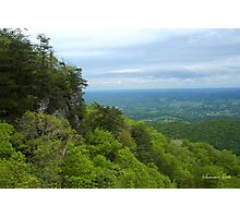 Powell Valley from Pinnacle Overlook Photographic Print