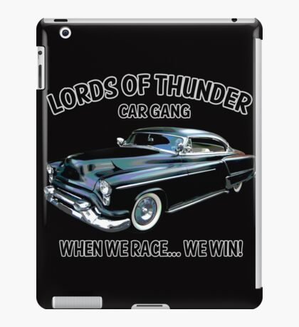Lords Of Thunder iPad Case/Skin
