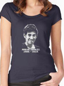 Aaron Swartz Women's Fitted Scoop T-Shirt