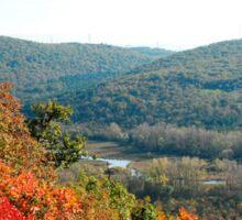 Autumn Landscape Near Doberdo Sticker