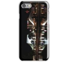 Adelaide Festival Theatre, reflected in the Torrens at night iPhone Case/Skin