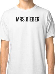 MRS. BIEBER T SHIRT Classic T-Shirt