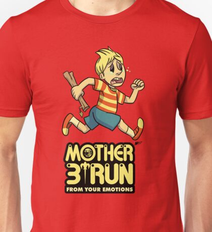 Mother 3- Run... From Your Emotions Unisex T-Shirt