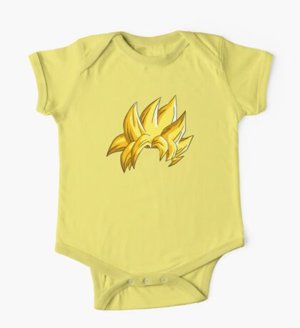 Goku Super Saiyan Hair One Piece - Short Sleeve