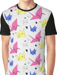 Origami Crane Graphic T-Shirt