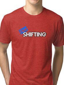 ibe Shifting - Blue Tri-blend T-Shirt