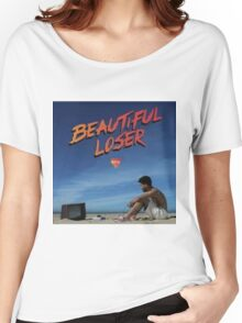 Kyle Beautiful Loser Alternative Album Cover  Women's Relaxed Fit T-Shirt