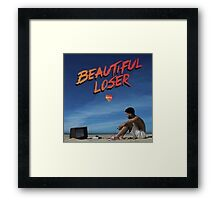 Kyle Beautiful Loser Alternative Album Cover  Framed Print