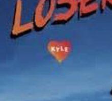 Kyle Beautiful Loser Alternative Album Cover  Sticker