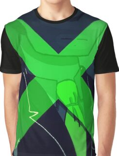 Green Locus  Graphic T-Shirt