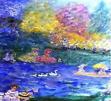 Swan Lake Artist Designed by innocentorigina