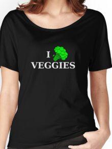 I [broccoli] VEGGIES Women's Relaxed Fit T-Shirt