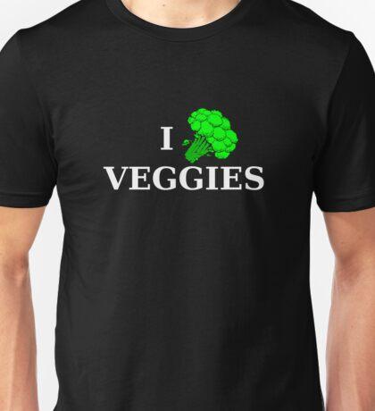 I [broccoli] VEGGIES Unisex T-Shirt