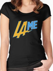 LAME Chargers Women's Fitted Scoop T-Shirt