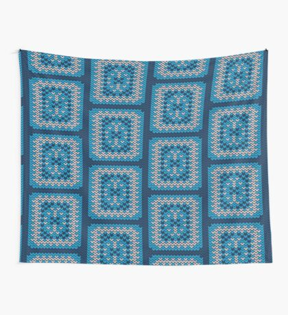 Knitted Decorative Background Wall Tapestry