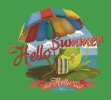 Hello summer and hello sea! Baby Tee