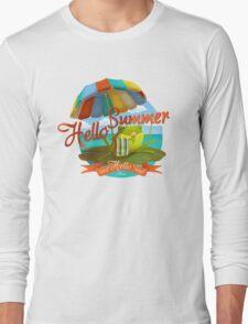 Hello summer and hello sea! Long Sleeve T-Shirt