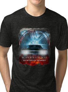 Supernatural May the light expel the darkness Tri-blend T-Shirt