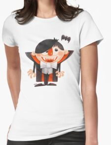 Dracula kid Womens Fitted T-Shirt