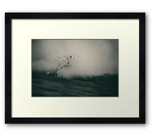 Self And Nature, Releasing My Worries I  Framed Print