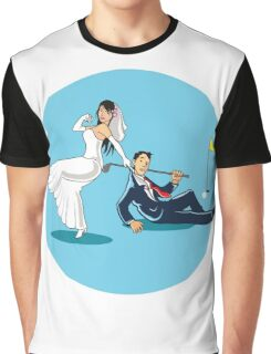 MARRYING GOLFER Graphic T-Shirt
