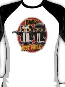 Owls Pulp Fiction T-Shirt