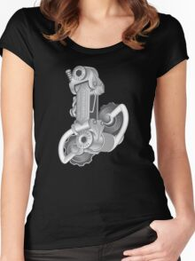 Campagnolo Nuovo Record Rear Derailleur, 1974 Women's Fitted Scoop T-Shirt