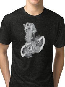 Campagnolo Nuovo Record Rear Derailleur, 1974 Tri-blend T-Shirt