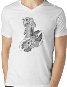 Campagnolo Nuovo Record Rear Derailleur, 1974 Mens V-Neck T-Shirt