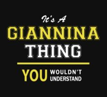 It's A GIANNINA thing, you wouldn't understand !! by satro