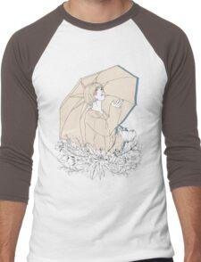 Girl's Diary Collection - Rain Men's Baseball ¾ T-Shirt