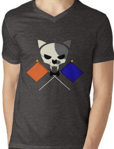 Jolly Roger Judd - Splatoon (Orange vs. Blue) Mens V-Neck T-Shirt