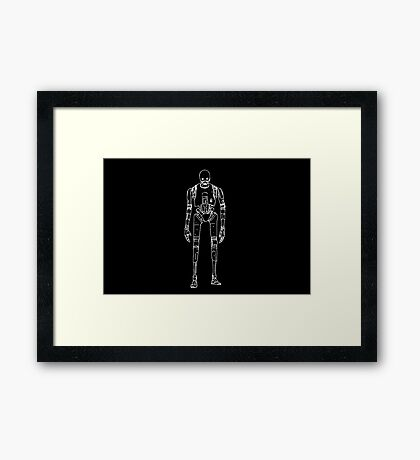 Rogue One K-2S0  Framed Print