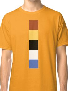 Woody Color Pallet Classic T-Shirt