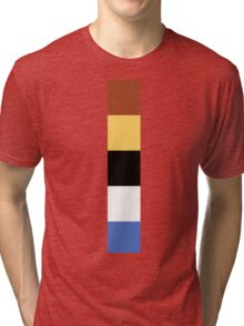 Woody Color Pallet Tri-blend T-Shirt