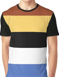 Woody Color Pallet Graphic T-Shirt